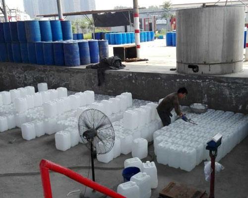 冰醋酸自动灌装25公斤