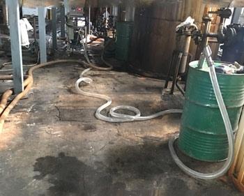 麦芽糖浆灌装大桶