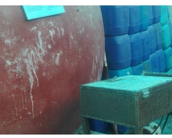 浓硫酸自动灌装25公斤中包装塑料桶计量设备